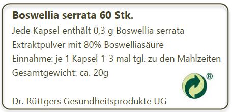 Labeling BS 60 Stk.